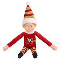 Forever Collectibles San Francisco 49ers Team Holiday Elf