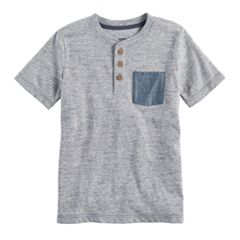 Boys 4-7x SONOMA Goods for Life™ Heathered Henley
