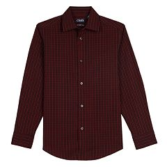 Boys 4-20 Chaps Stretch Button-Down Shirt
