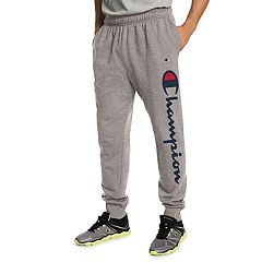 Men's Champion Script Fleece Jogger Pants