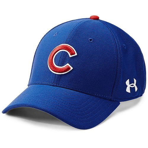 Men's Under Armour Chicago Cubs Blitzing Adjustable Cap