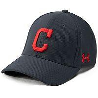 Men's Under Armour Cleveland Indians Blitzing Adjustable Cap