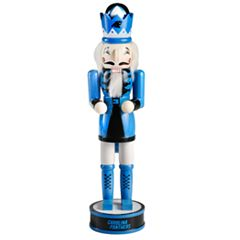 Forever Collectibles Carolina Panthers Nutcracker