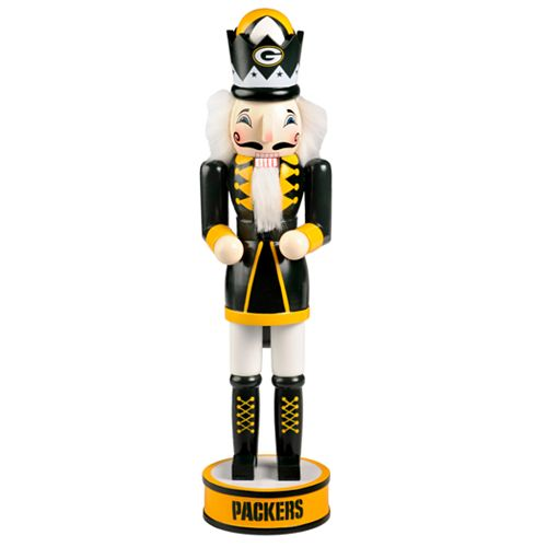 Forever Collectibles Green Bay Packers Nutcracker
