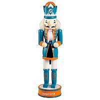 Forever Collectibles Miami Dolphins Nutcracker