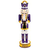 Forever Collectibles Minnesota Vikings Nutcracker