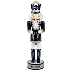 Forever Collectibles New England Patriots Nutcracker