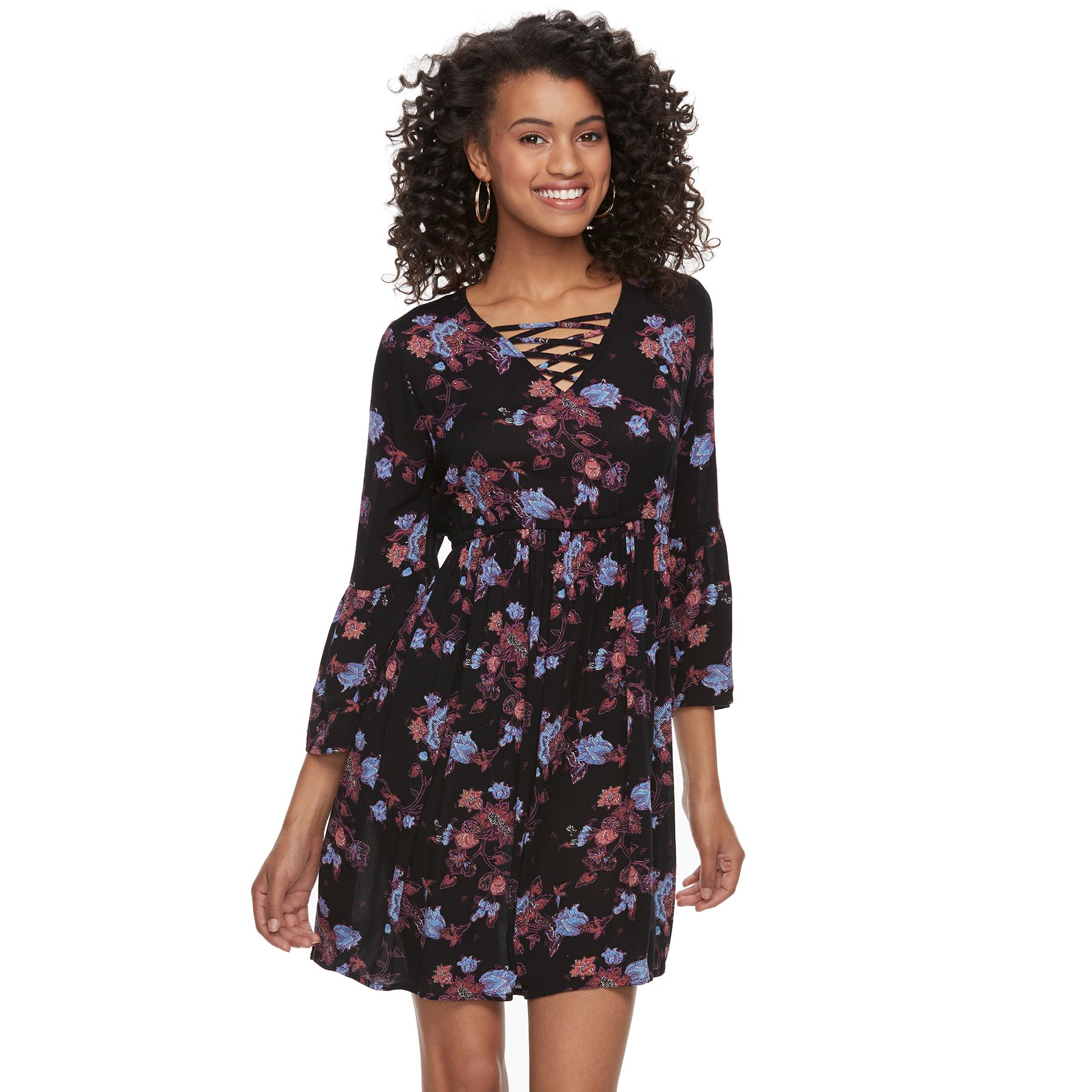 Juniors casual belted dresses fashion