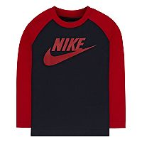 Boys 4-7 Nike Long Sleeve Colorblock Tee