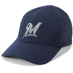 Men's Under Armour Milwaukee Brewers Shadow AirVent Adjustable Cap
