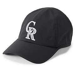 Men's Under Armour Colorado Rockies Shadow AirVent Adjustable Cap