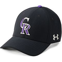 Men's Under Armour Colorado Rockies Blitzing Adjustable Cap