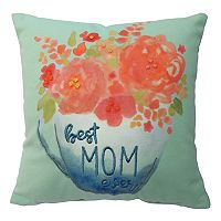 Celebrate Easter Together ''Best Mom Ever'' Mini Throw Pillow