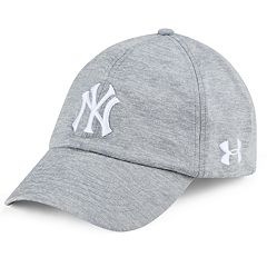 Women s Under Armour New York Yankees Renegade Adjustable Cap 15ba2cd0b1