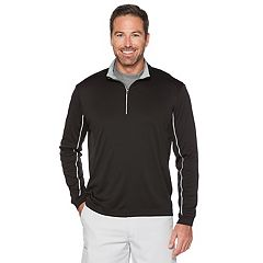 Big & Tall Grand Slam MotionFlow 360 Regular-Fit Water-Repellent Quarter-Zip Pullover