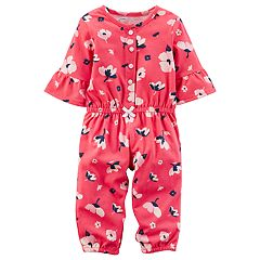 Baby Girl Carter's Floral Print Romper