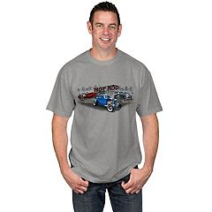 Big & Tall Newport Blue Classic Vehicle Tee