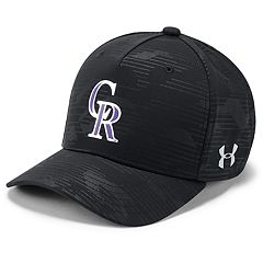 Youth Under Armour Colorado Rockies Storm Adjustable Cap