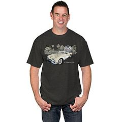 Men's Newport Blue Classic Vehicle Tee