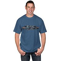 Big & Tall Newport Blue Classic Vehicle Graphic Tee