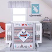 Trend Lab 4-pc. Moose Canoe Crib Bedding Set