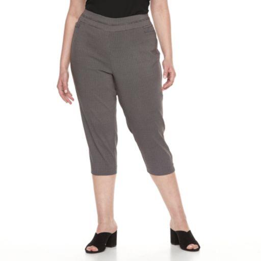 Plus Size Apt. 9® Brynn Pull-On Capris