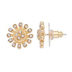 LC Lauren Conrad Flower Nickel Free Stud Earrings