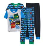 Boys 4-10 Lego Ninjago Glow-In-The-Dark 4 pc Pajama Set
