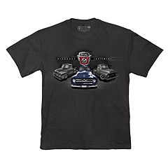 Men's Newport Blue Classic Vehicle Graphic Tee