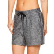 Women's Gaiam Warrior Marled Yoga Shorts