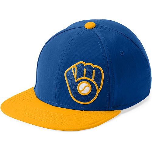 Youth Under Armour Milwaukee Brewers Adjustable Snapback Cap