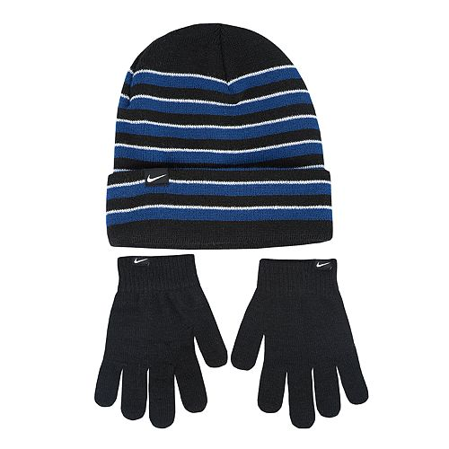 b5dee270ca4 Boys Nike Beanie   Gloves Set