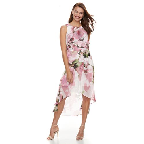 Petite Chaya Floral Ruffle Maxi Dress