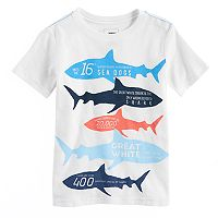 Boys 4-7x SONOMA Goods for Life™ Educational Sharks Graphic Tee