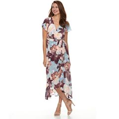 Petite Chaya Split Short Sleeve Maxi Dress