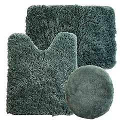 Portsmouth Home 3-piece Super Plush Bath Mat Rug Set