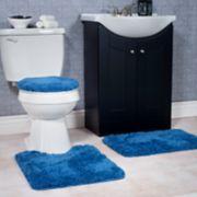 Portsmouth Home 3-piece Super Plush Bath Mat Rug Set