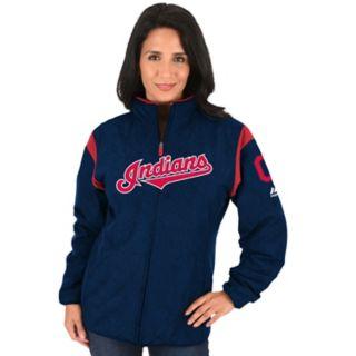 Women's Majestic Cleveland Indians Premier Jacket