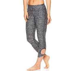 Women's Gaiam Twist Yoga Capri Leggings