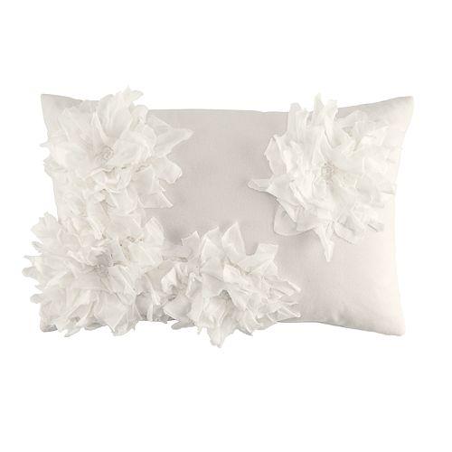 LC Lauren Conrad Floral Burst Oblong Throw Pillow