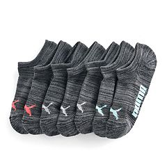 Women's PUMA 6-pk. No-Show Athletic Socks + Plus Bonus Pair