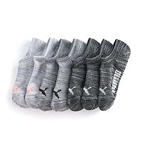 Women's PUMA 6 pkNo-Show Athletic Socks + Plus Bonus Pair