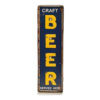 Bey-Berk Craft Beer LED Metal Sign