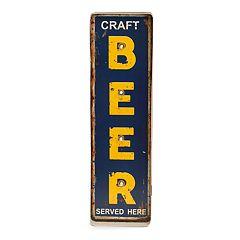 Bey-Berk Craft Beer LED Metal Sign