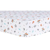 Trend Lab Moose Canoe Fitted Crib Sheet