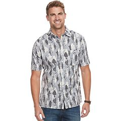 Men's Croft & Barrow® Classic-Fit Crosshatch Button-Down Shirt