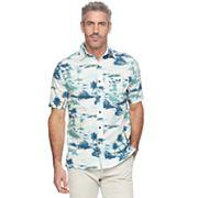 Men's Croft & Barrow® Classic-Fit Crosshatch Button-Down Shirt