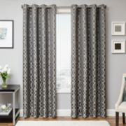 Softline 1-Panel Kofi Window Curtain