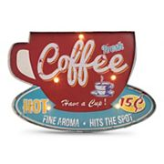 Bey-Berk Coffee Shop LED Metal Sign