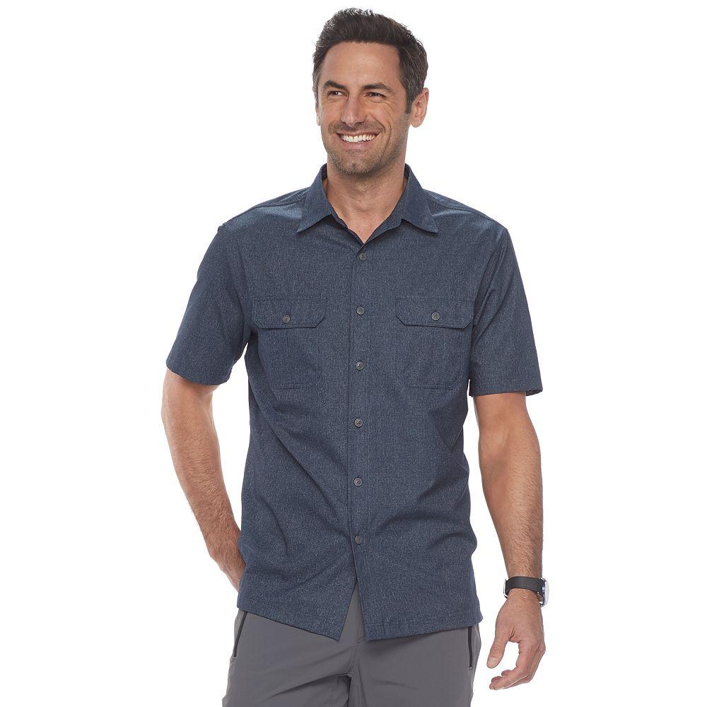 Men\'s Croft & Barrow® Classic-Fit Quick-Dry Outdoor Button-Down Shirt
